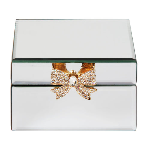 Sophia Mirror Glass Jewellery Box
