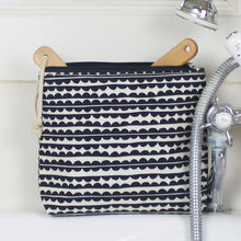 Load image into Gallery viewer, Brownstone London Tall Wash Bag Scallop Design