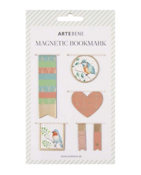 Set Of Magnetic Bookmarks