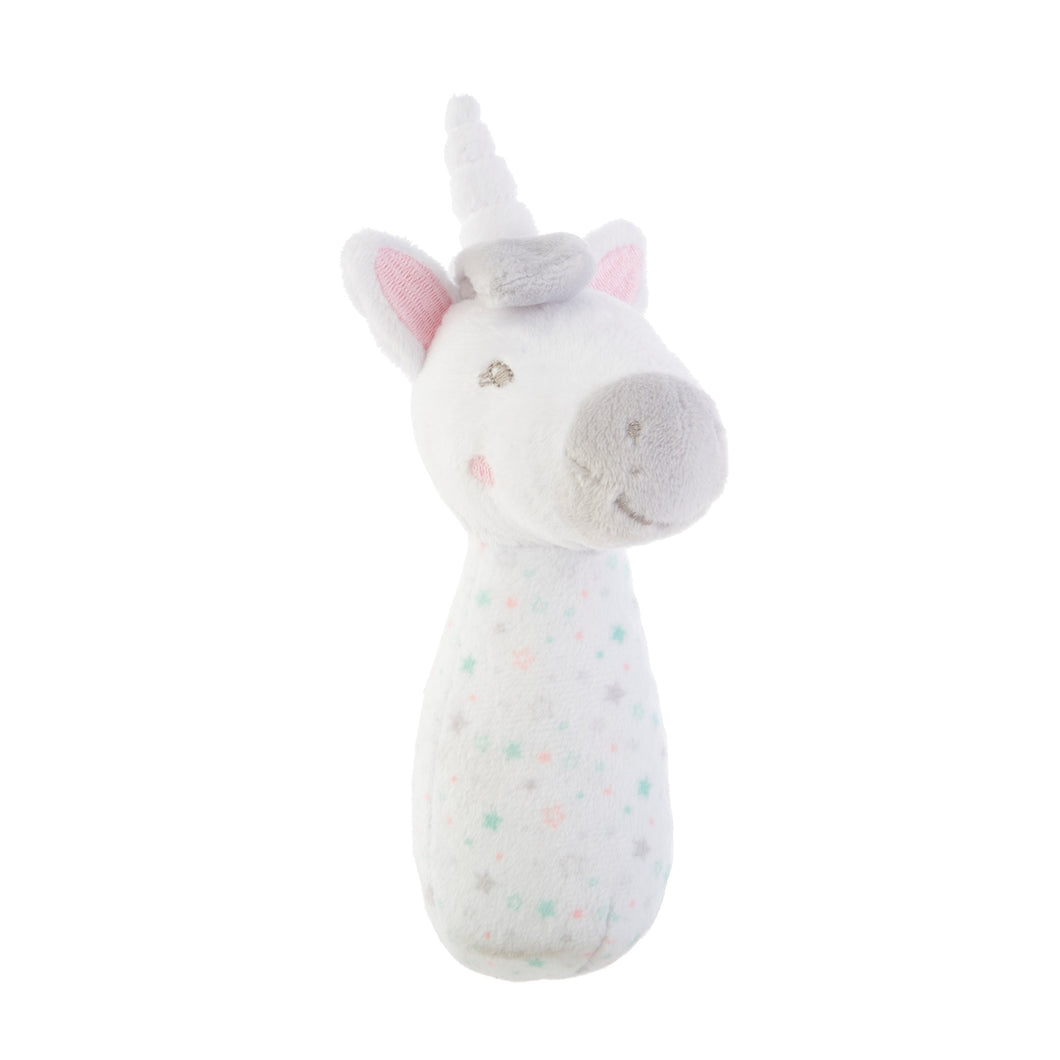 Evie Unicorn Soft baby Rattle