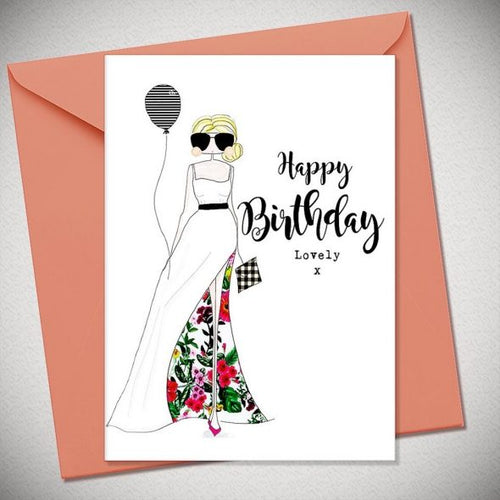 Happy Birthday Lovely Greetings Card