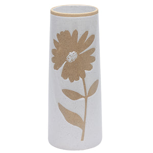 Padua Sunflower Ceramic Vase