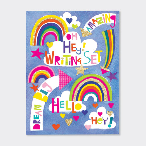 Dream Big rainbow Writing Set