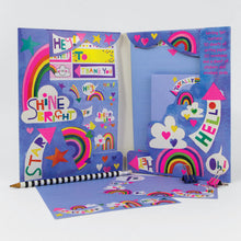 Load image into Gallery viewer, Dream Big rainbow Writing Set