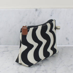 Brownstone London Make Up Bag Wave Design