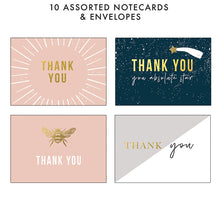 Load image into Gallery viewer, Piano Thank You Boxed Note Card Set