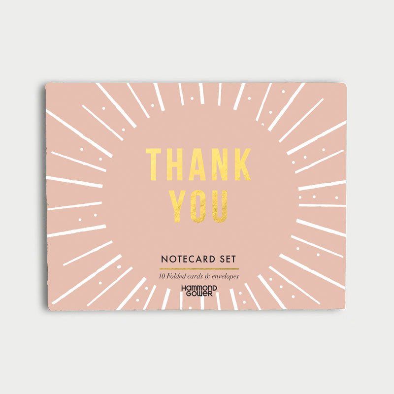 Piano Thank You Boxed Note Card Set