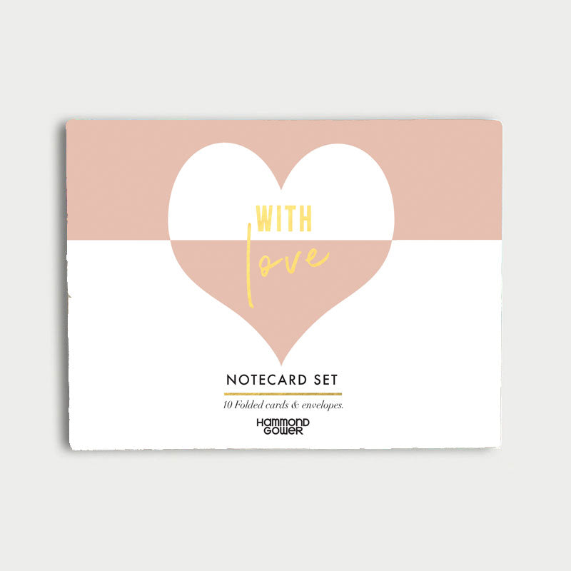 Piano With Love Boxed Note Card Set