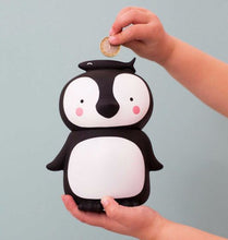 Load image into Gallery viewer, A Little Lovely Money Box Penguin Design
