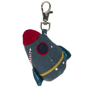 Space Rocket Key Ring