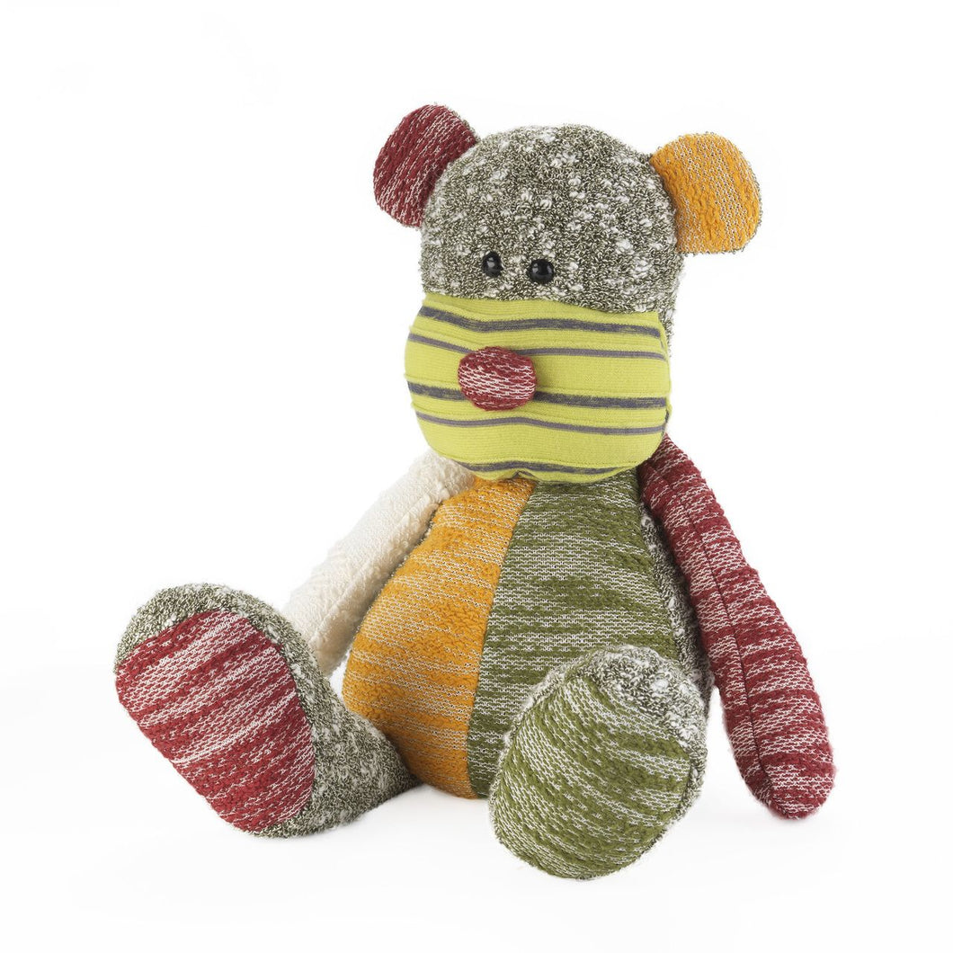 Warmies Patchwork Teddy