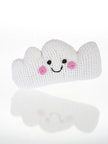 Knitted Cloud Rattle