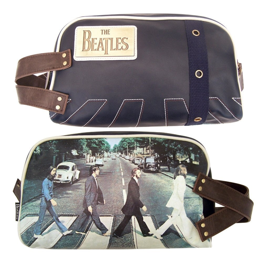 Disaster Designs The Beatles Abbey Road Album Photo Washbag