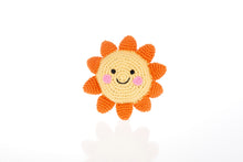 Load image into Gallery viewer, Knitted Friendly Sun Rattle