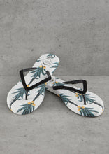 Load image into Gallery viewer, Pretty You London Coconut Print Flip Flops