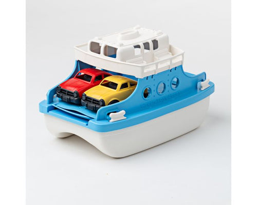 Green Toys Ferry Boat With Cars