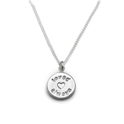 Loved Always Sterling Silver Necklace