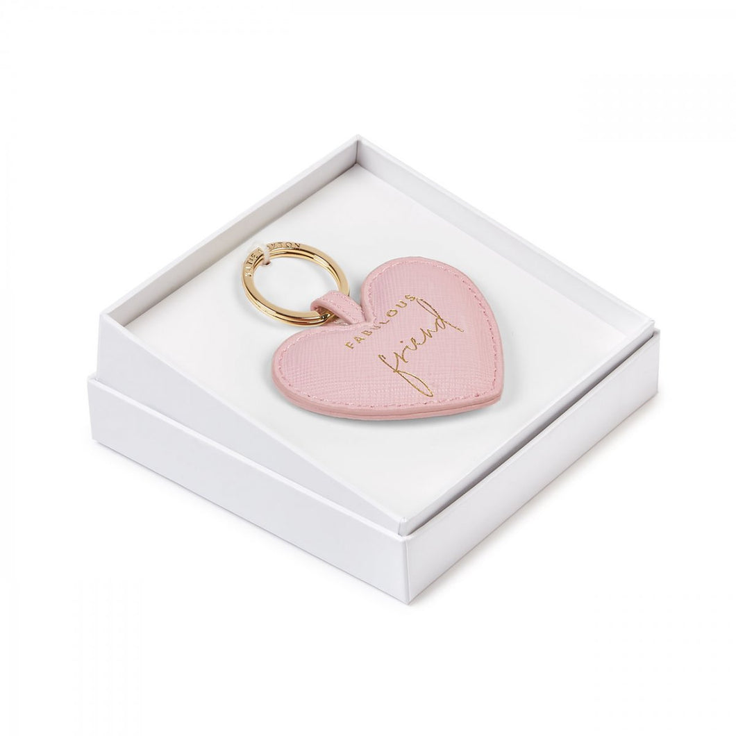 Boxed Fabulous Friend Sentiment Key Ring