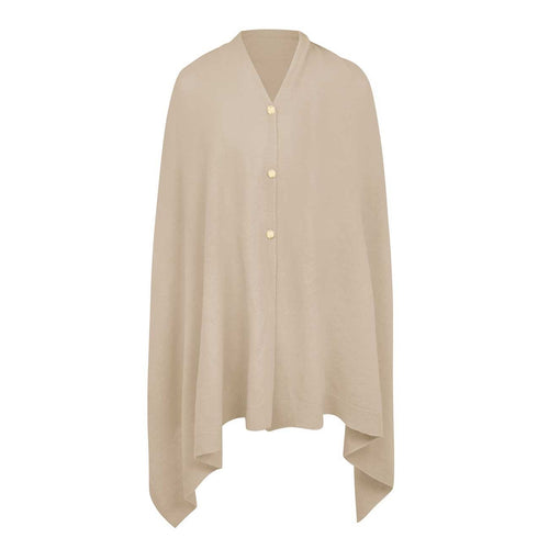 Eve Multi Way Poncho Natural