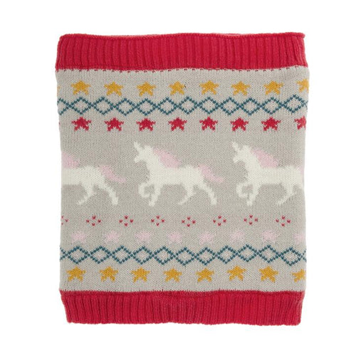 Unicorn Kids Knitted Snood