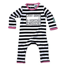 Load image into Gallery viewer, Nine Months Organic Cotton Baby Grow Pink