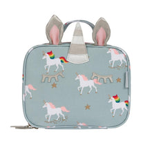 Load image into Gallery viewer, Unicorn Oilcloth Lunch Bag