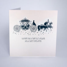 Load image into Gallery viewer, Fairytale Wedding Greetings Card