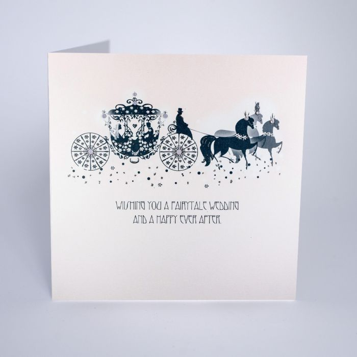 Fairytale Wedding Greetings Card