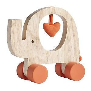 Natures Purest Wooden Elephant Toy