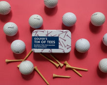 Load image into Gallery viewer, Golfers Tin Of Tees