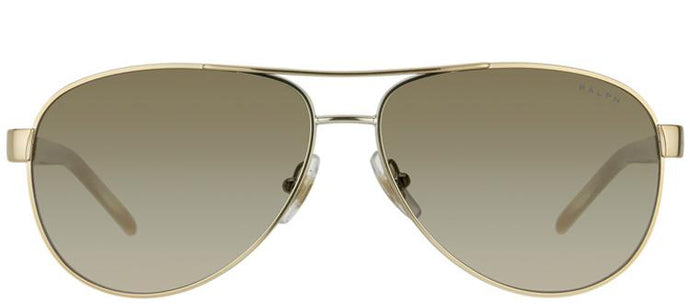 Ralph by Ralph Lauren RA 4004 101/13 Aviator Metal Sunglasses