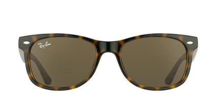 Ray-Ban Jr RJ 9052 Wayfarer Plastic Sunglasses - Tortoise with Brown Lens