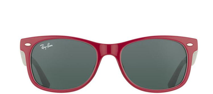 Ray-Ban Jr RJ 9052 Wayfarer Plastic Sunglasses - Purple with Grey Lens