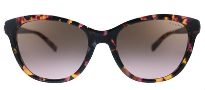 Ralph by Ralph Lauren RA 5201 145714 Shiny Pink Marble Cat-Eye Metal Sunglasses