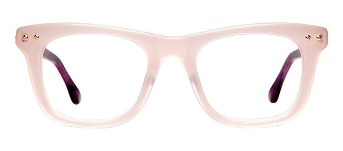 Cynthia Rowley Eyewear CR5003 No. 62 Blush Square Plastic Eyeglasses