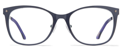 Cynthia Rowley Eyewear CR5003 No. 87 Navy Square Metal Eyeglasses