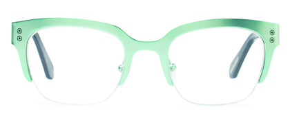 Cynthia Rowley Eyewear CR 5032 No. 26 Satin Mint Square Metal Eyeglasses