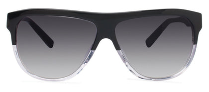 Cynthia Rowley Eyewear CR 6019S No. 15 Black/Clear Aviator Plastic Sunglasses