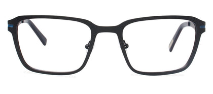 Cynthia Rowley Eyewear CR 6020 No. 37 Black Rectangle Metal Eyeglasses
