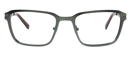 Cynthia Rowley Eyewear CR 6020 No. 37 Matte Hunter Rectangle Metal Eyeglasses
