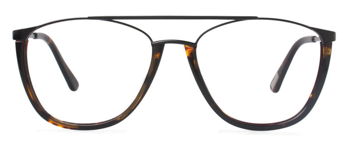 Cynthia Rowley Eyewear CR 6022 No. 76 Dark Tortoise Aviator Metal Eyeglasses