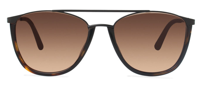 Cynthia Rowley Eyewear CR 6022S No. 76 Dark Tortoise Aviator Metal Sunglasses