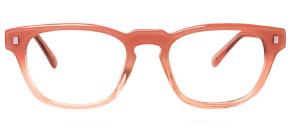 Cynthia Rowley Eyewear CR 5029 No. 49 Fade Blush Square Plastic Eyeglasses