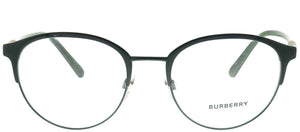 Burberry BE 1318 1251 Matte Green Round Metal Eyeglasses