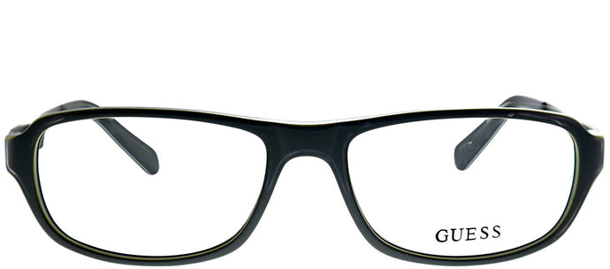 Guess GU 1779 GRY Grey Plastic Rectangle Eyeglasses