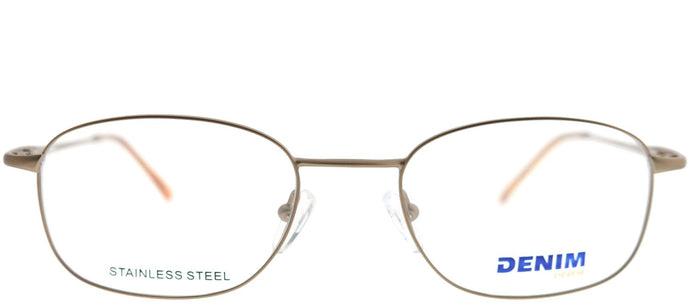 Denim Eyewear Denim 101 K2L Bronze Rectangle Metal Eyeglasses