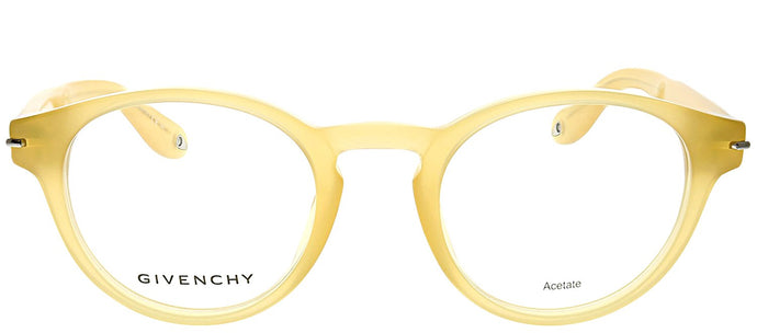 Givenchy GV 0002 CZ0 Honey Round Plastic Eyeglasses
