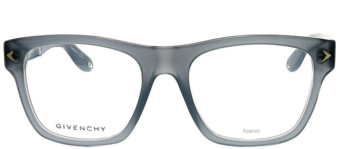 Givenchy GV 0010 RU2 Opal Grey Rectangle Plastic Eyeglasses