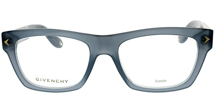 Givenchy GV 0017 RU2 Opal Grey Rectangle Plastic Eyeglasses