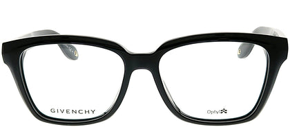 Givenchy GV 0023/F D28 Black Rectangle Plastic Eyeglasses